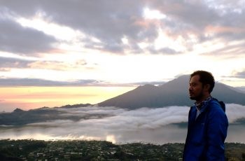 sunrise di gunung batur bali